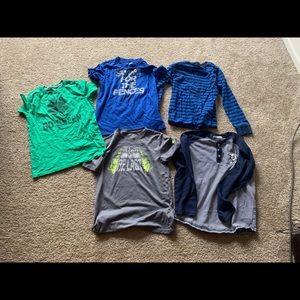 Boys Med/Large bundle of shirts